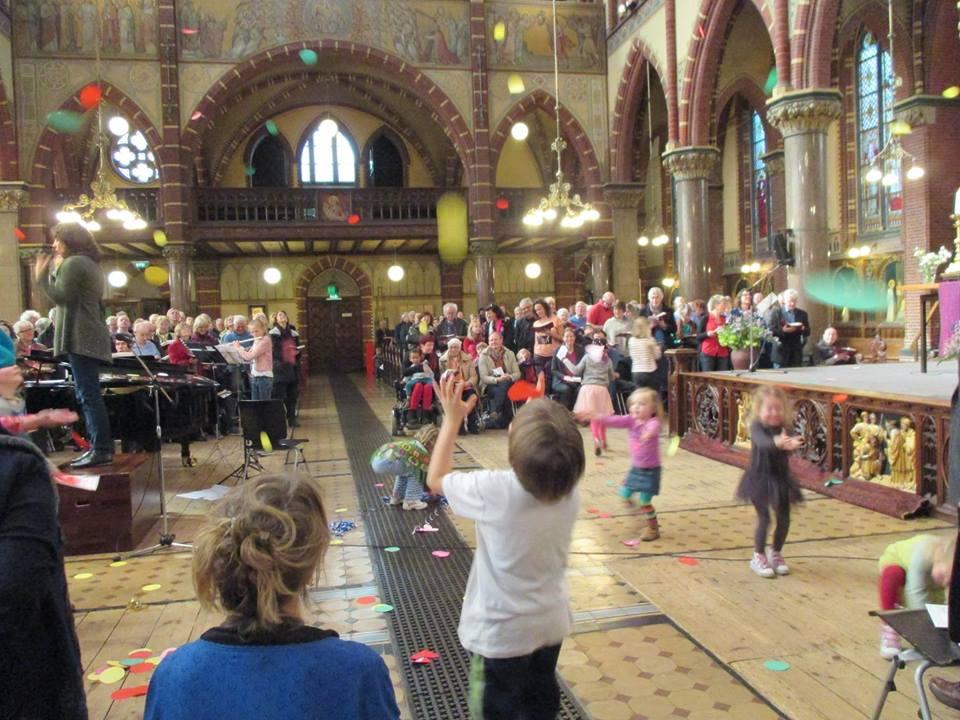 kerk, amsterdam, kinderen, Dominicus