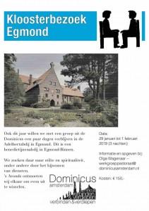 Egmond kloosterbezoek