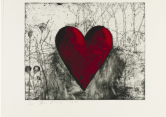 Jim Dine: The Little Heart in the Landscape. 1991. MoMA New York.