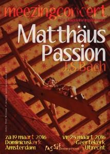 Mattheus Passion 2016