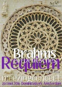 kaart Brahms meezing 2016