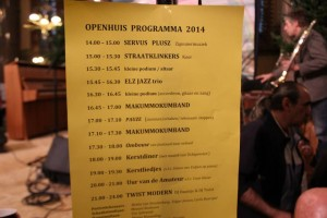 programma open huis 2014